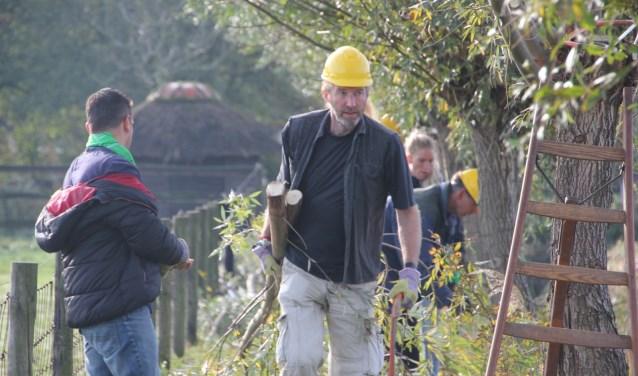 Hardwerkende vrijwilligers