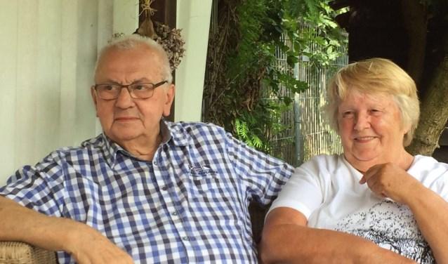 Mari en Leny de Laat zijn op 11 november 60 jaar getrouwd.