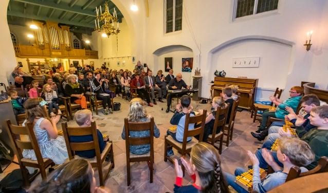 Er was een optreden van De Hoge Hof. (Foto: Jan Bouwhuis)