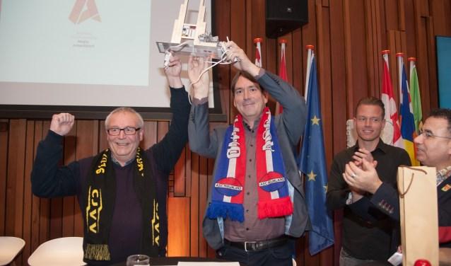 V.l.n.r. Henk Nagelhout, Remco Reiding, Danny de Graaf en Hassan Elammouri. (Foto: Ronald Kersten Fotografie)