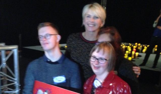 Stijn, Anita, Sharon en Floor