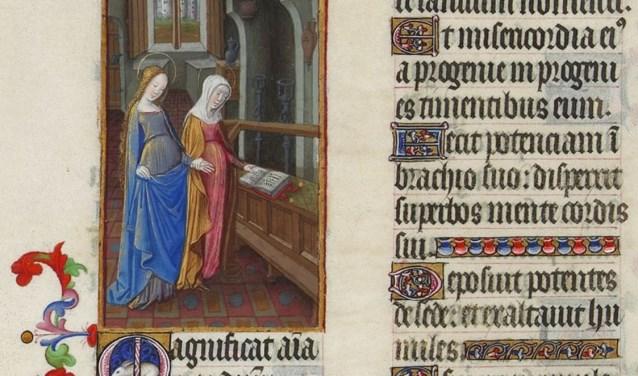 Maria bij Elisabet en het Magnificat