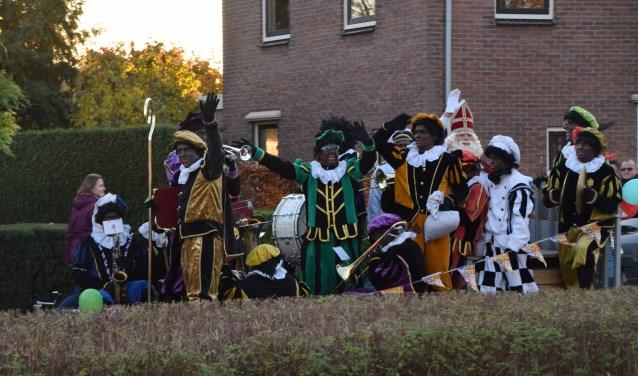 Aankomst Sinterklaas in Doornenburg