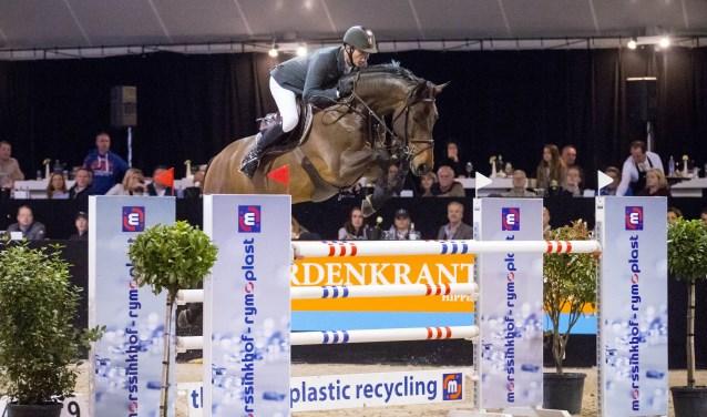 Jeroen Dubbeldam met Eldarado S tijdens de vorige editie van Jumping Achterhoek.
