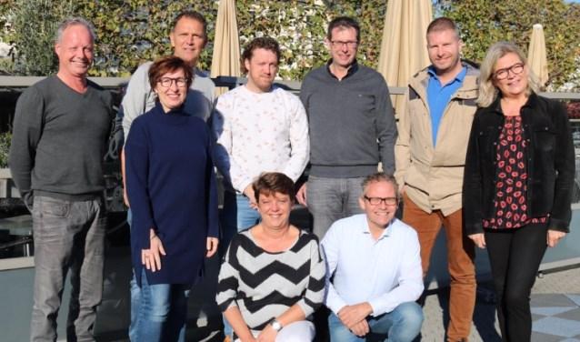 Het enthousiaste clubje vrijwilligers achter Beleef Wijchen.