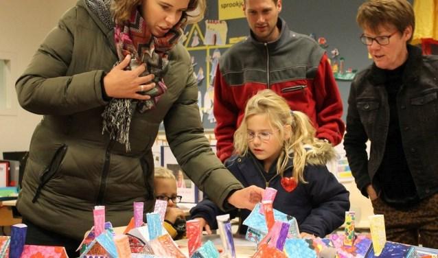 De leerlingen van de Saller steken veel tijd en energie in hun portfolio. Tijd dat de ouders eens kwamen kijken.