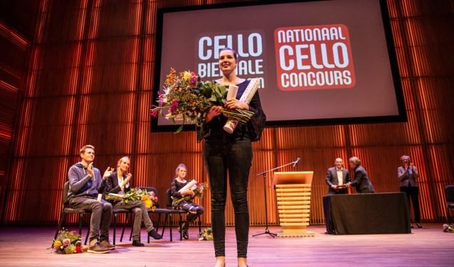 Eline Hensels wint Nationaal Cello Concours - Foto MelleMeivogel