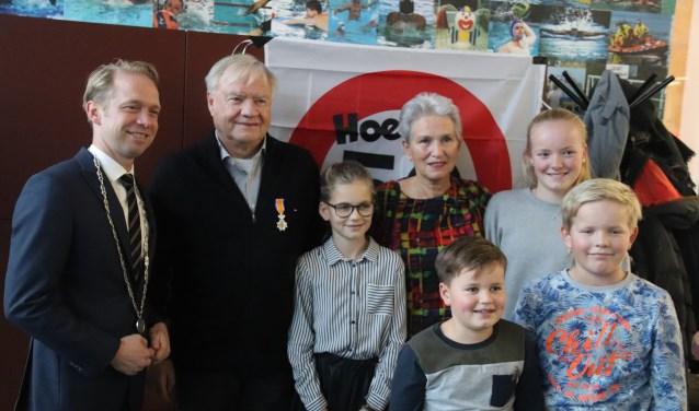 De familie Kramer Freher werd vereerd met een koninklijke onderscheiding.