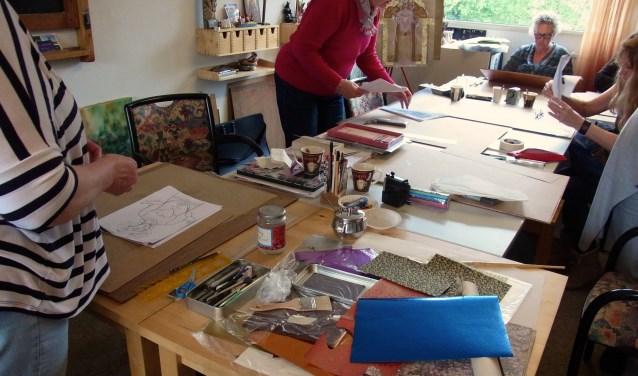 het atelier van Frida Boland