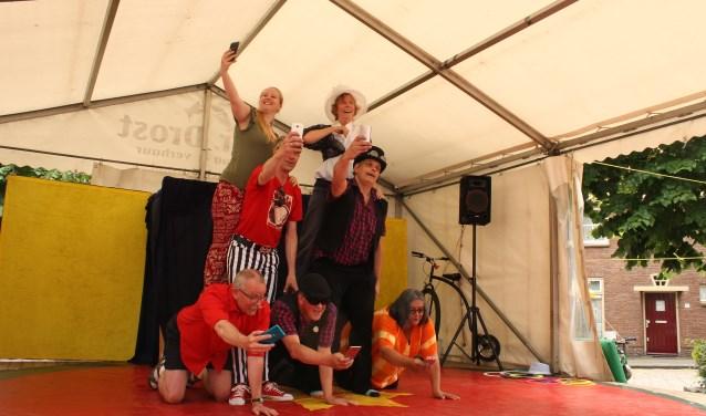 Volwassengroep Circus op de Utrechtse Heuvelrug