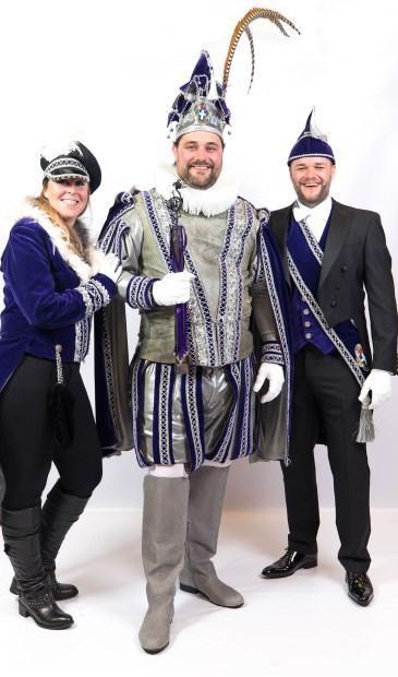 """,,Een Sassendonk voor groot en klein zo hoort carnaval te zijn!"""" aldus Prins Balg 1."""