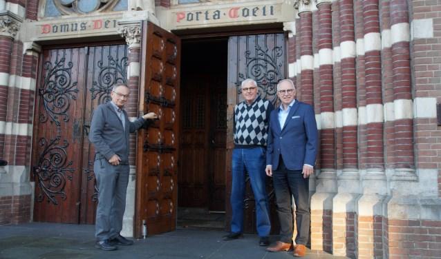 Victor Lasthuis, Theo van Rijnsoever en Hans Slooijer. TEKST en FOTO: Winny van Rij