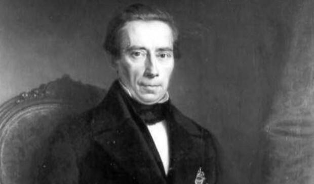 Portret Thorbecke uit de collectie van Historisch Centrum Overijssel.