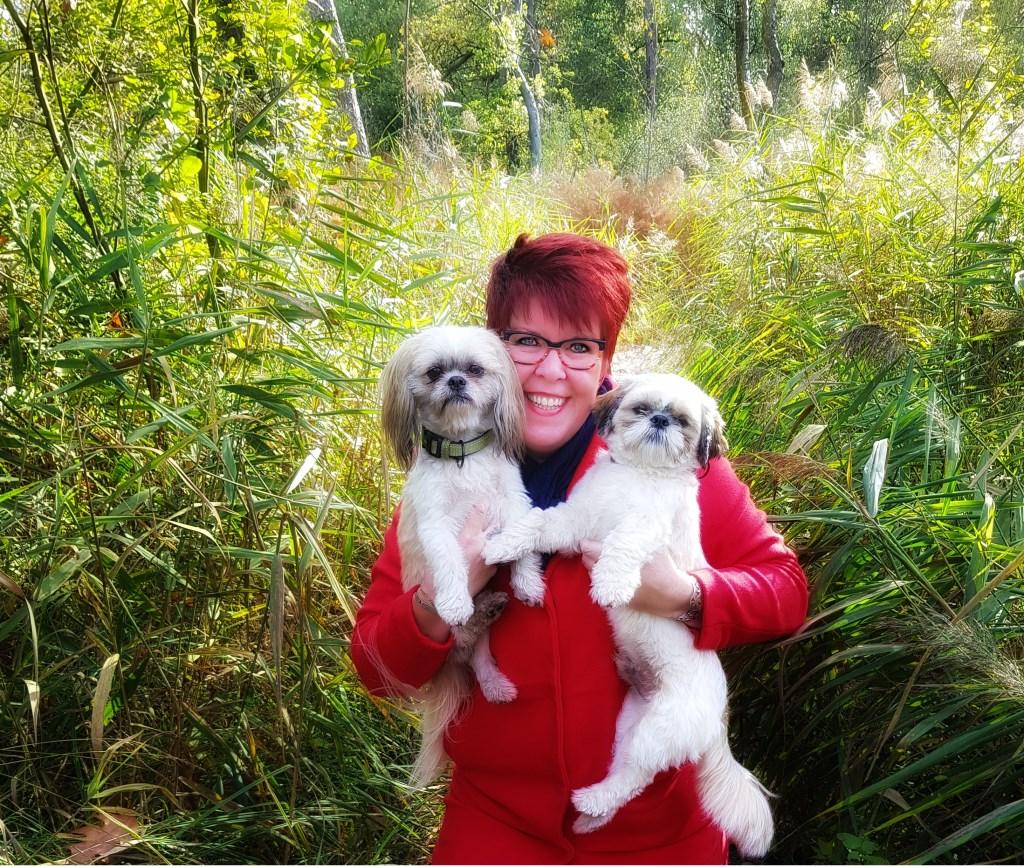 Samen met Storm en Fynn aan het genieten van de mooie natuur tijdens de vele wandelingen.