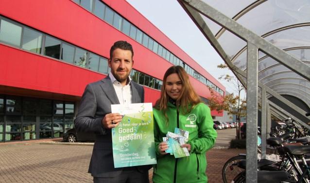 """Niels van Schooten, mobility manager bij Royal Reesink is blij met dit initiatief: """"Milieu en gezondheid staan hoog op de agenda bij Royal Reesink."""
