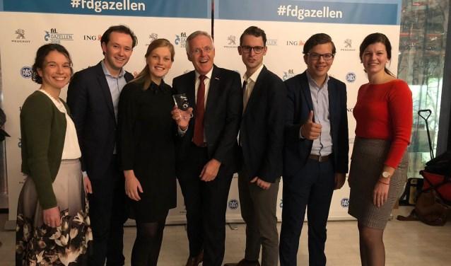 Het team van ECM Dialoog was bijzonder verheugd met het ontvangen van de FD Gazellen.