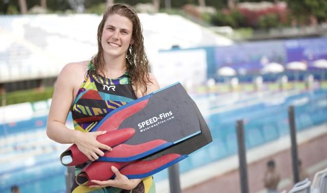Ela Hutten: 'Ik hoop op een medaille'. (foto: Vinnie de Laat / Click United)