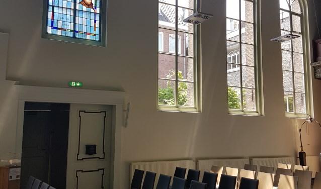 kerkzaal Lutherse kerk Breda