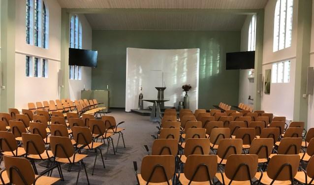 Vernieuwde kerkzaal