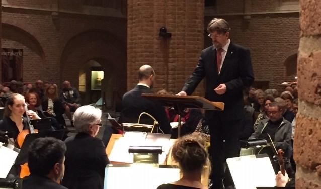 Dirigent Bas Ramselaar [maart 2018 Joihannes Passion Cunerakerk Rhenen]