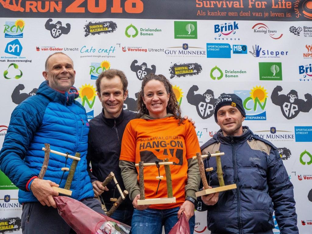 Priscilla de Vries wint 13 km veteranen dames  Foto: Sanne Mallant © Persgroep