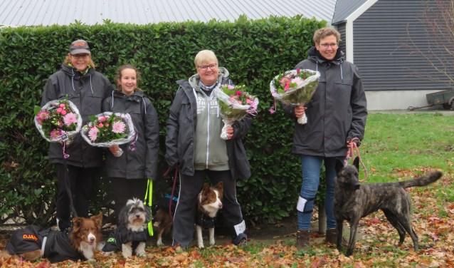 Het is een superjaar geweest voor de lopers van HondenSportVereniging Runners Vooruit.