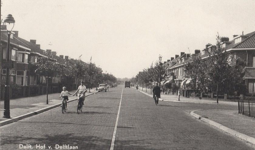 Een van de straten van het vroegere Hof van Delft.