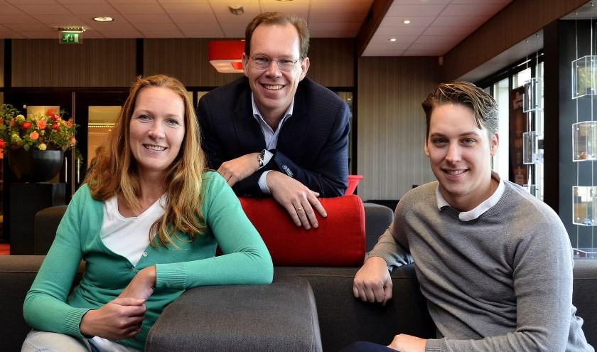 Van links naar rechts: Sascha Wensveen, Bert Frölich en Paul Haans. (foto: Ab Hendriks)