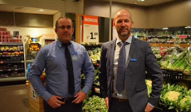 Joost Tasma (links) en Frank van Heusden.