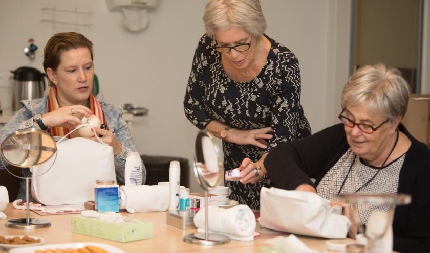 Workshop Look Good Feel Better in Gelre ziekenhuizen.
