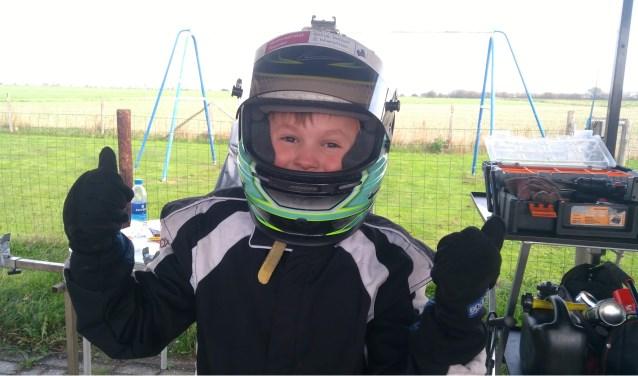 Sep Harmsen op de Grand Prix van Texel