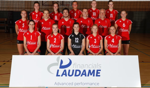 Teamfoto Laudame Financials VCN Dames 1