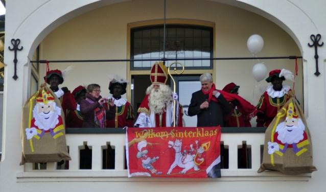 Sinterklaas wordt ook dit jaar weer hartelijk ontvangen in Neede.