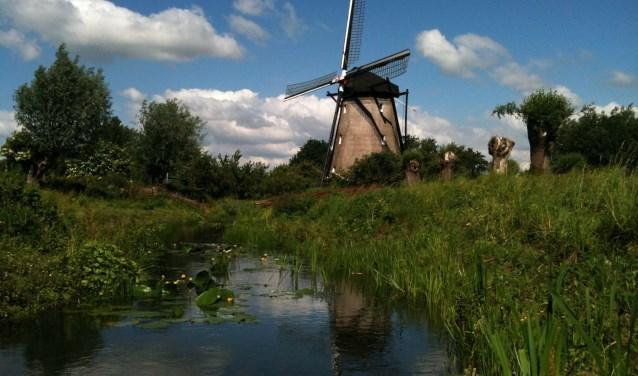 Ook de poldermolen van Zuilichem is geopend tijdens de molendag op 10 november. Daar is speciale aandacht voor de eeuwenoude historie van  de polder en molen.