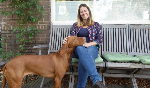 Grethe van 't Foort is samen met haar man nu ongeveer een jaar pleegouder. (foto: Marnix ten Brinke)
