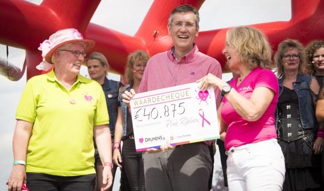 Direct na afloop van de eerste editie werd al een cheque van 40.875 euro overhandigd. Dit bedrag is opgelopen tot 42.917,87 euro.