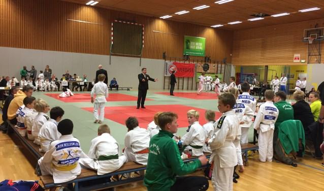 judowedstrijden in De IJsselhal