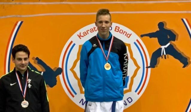 Nederlands Kampioen Karate Julian Nobbe