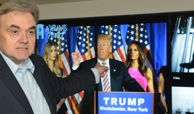 Het wordt spannend; behoudt Trump de meerderheid in het congres? (Foto: Jos van Leeuwen)