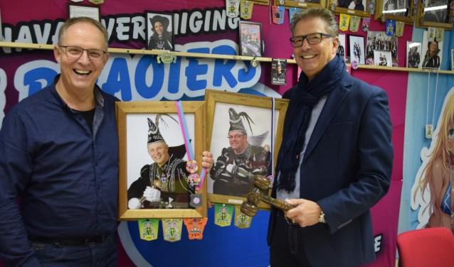 Jos van Kerkhof krijgt volgend jaar de voorzittershamer van Frank Tengnagel. (Foto Hanneke Hoefnagel)