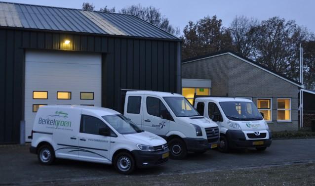 Partners Berkelgroen, Axent Groen en Hacron Groen verhuizen van Lochem naar Borculo