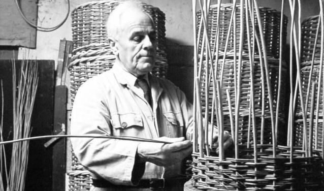 Willem Goedhart had een werkplaats in Vlijmen. Foto: Collectie L. v.d. Heijden