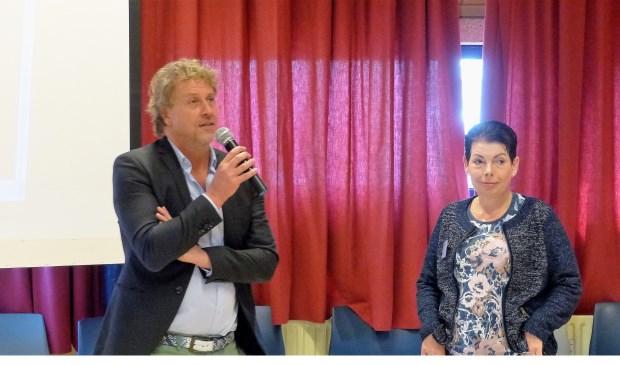 Wethouder Soeterboek opent miniconferentie Platform SCW Nissewaard. Foto: Roel van Deursen