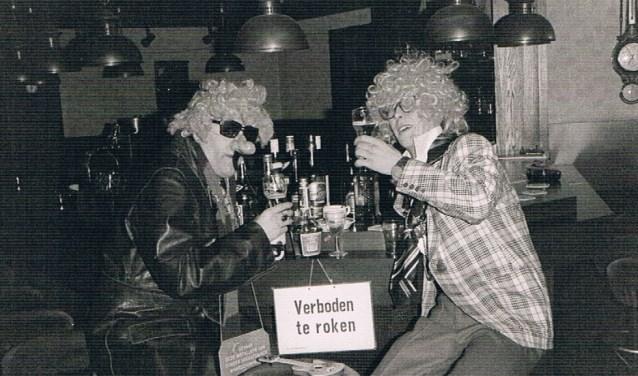 Archieffoto uit de voor Leo en Theo zo succesvolle jaren 80.
