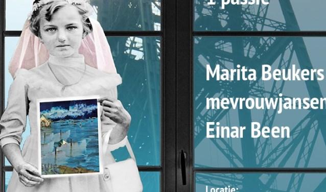 Affiche, aankondiging expositie