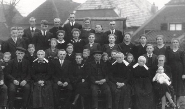 Een deel van de familie Averesch-ten Bolscher.