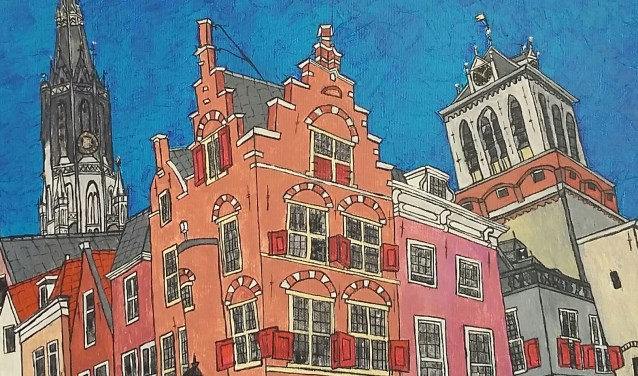 Delftse binnenstad 1