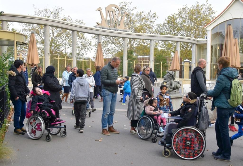 Even pauze in de dierentuin Foto: André Boon © Persgroep