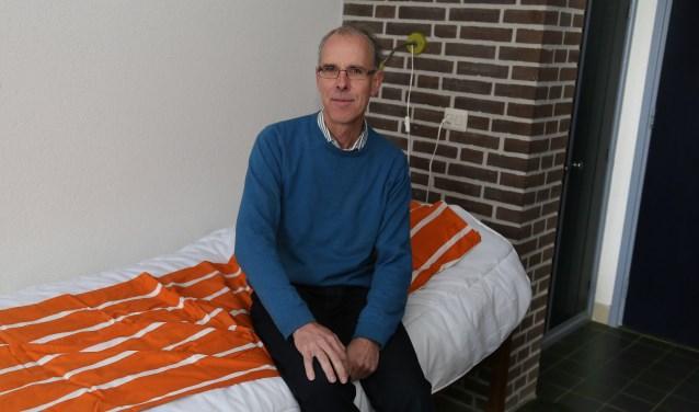 """Mark van der Linden, directeur van Avant Spirit: """"De kern van het oude klooster wordt pelgrimeren."""" (foto Marco van den Broek)"""