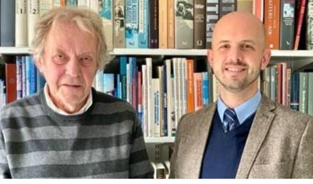 De auteurs Jac. J. Baart en historicus drs. Lennart van Oudheusden.
